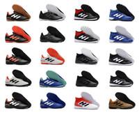 Wholesale precision flat - 2018 Predator Tango 18.3 TF IC soccer shoes mens Predator Precision IC TF soccer cleats Predator Mania Champagne football boots