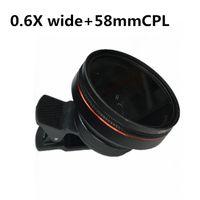 bc63ab3d0a21a lente polarizada grande venda por atacado-Novo Estilo Universal  Grande-Abertura Celular Lens Hd