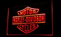 Wholesale motor lead - Ls210-r Harley Davidson Motor Cycles Neon Light Sign Decor Free Shipping Dropshipping Wholesale 8 colors to choose