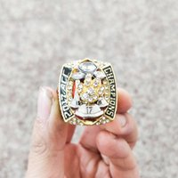 Wholesale white tiger plate - 2018 wholesale high quality 2017 ~ 2018 Clemson Tiger s ACC Championship Ring Fan Gift free Shipping(More than 20 DHL free shipping)