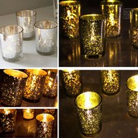Wholesale Glass Birthday Candle Holders