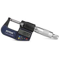 électronique chrome achat en gros de-0 - 25MM Digital Micrometer 0.001mm Micromètres Électroniques Calibre Calibre Mètre En Acier Inoxydable Chromé Micromètre Extérieur