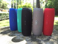 Wholesale Power Buttons - wholesale DHL Hot Bluetooth Speaker Portable Wireless Speakers Outdoor Waterproof Subwoofer Powerbank 1200mAh Battery with power bank