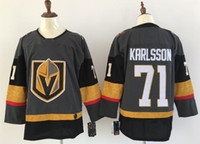 Wholesale ice hockey goalie jersey - nhl hockey jerseys stanley cup champion Vegas Golden Knights Marc-Andre Fleury James Neal William Karlsson Erik Haula goalie cut jersey adi