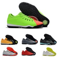 Wholesale soccer shoes for men sale - Hot Sale mens soccer shoes HYPERVENOM III Md sole Outdoor low football training boots for men HypervenomX Finale II soccer cleats TF