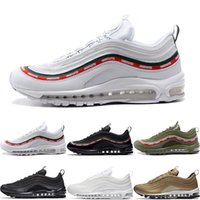 Wholesale art bullets online - Best Quality OG QS Running Shoes Triple White Black Metallic Gold Silver Bullet Green Mens Womens Trainers Sport Athletic Shoes Sneakers