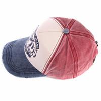 Wholesale wholsale caps resale online - Wholsale brand cap baseball caps fitted hat Casual gorras panel hip hop snapback hats wash cap for men women unisex