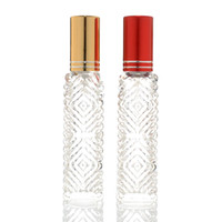 Wholesale perfume bottles prices resale online - Price ml Mini Spray Perfume Bottle Travel Refillable Empty Cosmetic Containers Perfume Bottle Atomizer In Stocks
