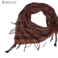 arab scarf venda por atacado-7 Cores Houndstooth Grande Lenço Quadrado Unisex Moda Mulheres E Homens Árabe Shemagh Keffiyeh Palestina Cachecol Xale Envoltório Dec5