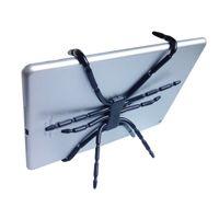 iphone holder örümcek toptan satış-Örümcek Tablet Tutucu Ahtapot Tablet iPad iPhone Cep Telefonu için Standı Katlanabilir Katlanır Dağı Yatakta Bisiklet Araba Masası HD01