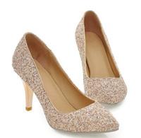ingrosso scarpe di tacco invernale coreano-Invia Hot 2016 nuovo stile inverno coreano principessa scarpe da sposa spose femminili scarpe singole tacchi alti e scarpe tacchi sottili tacco 5cm, 8cm