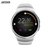 reloj smart оптовых-Smartwatch KW18 SIM TF Card Smart Watch Heart Rate Monitor TK2502C 1.3 inch HD IPS Wristwatch Slot Reloj Inteligente
