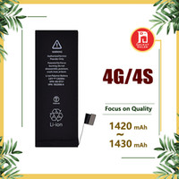 Wholesale brand new iphone 4s - For iPhone Battery Replacement iphone 4 4s 4G with Good Flex and Safe Package Brand New 0 Cycle 1420mah 1430mah Fast Free Shipping