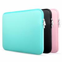 cubierta de la manga del aire ipad al por mayor-Funda para portátil 13 pulgadas 11.6 12 15.4 pulgadas para MacBook Air Pro Retina Display 12.9