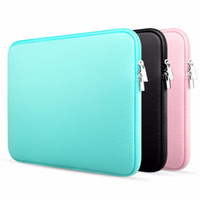 Wholesale macbook china notebook resale online - Laptop Sleeve Inch Inch for MacBook Air Pro Retina Display quot Soft Case Cover Bag for Apple for Samsung Notebook Sleeve