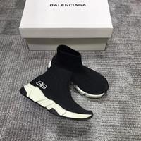 imagen de zapatillas al por mayor-2018 Nuevo BB Luxury Designer niños / niñas Zapatos Moda Niños Zapatillas de deporte Cuadro real con caja