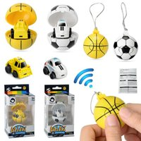 Wholesale toy cars for children for sale - 2 G Mini RC Car Football Basketball Soccer Remote Control Car Model Toys for Children Cartoon Novelty Items OOA5484