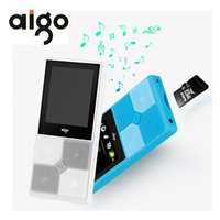 "Wholesale portable tft screen - Aigo 206 Portable Slim MP3 Music Player 1.8"" TFT Screen Display 128x160 Support 64GB SD Card Adjustable Audio MP3 Player"