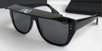 neue designerrahmen großhandel-New Fashion Designer Sonnenbrille Brille abnehmbare Abdeckrahmen Zier Brillen uv400 Schutzglas Top-Qualität einfach