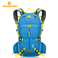 Wholesale cycling handle resale online - ANMEILU L Cycling Backpack Bags Rucksack Camelback Waterproof Outdoor Sports MTB Road Bicycle Bike Bags Rain Cover Colors
