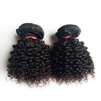 Wholesale dhgate indian remy hair for sale - Brazilian Virgin Human Hair sexy short inch hair double weft g Indian European Kinky Curly remy hair Extensions DHgate