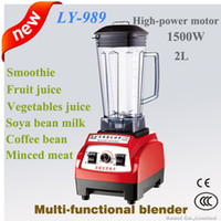 Wholesale commercial milk - Professional commercial soya bean milk blender,ice crusher,1500watt,2L,for home cooking