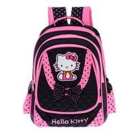 Wholesale rucksack backpacks girls for sale - Group buy FZMBAI Cartoon School Bags for Girls Hello Kitty Breathable Princess Kids Backpacks Satchel Primary Escolar Rucksacks