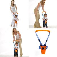 Wholesale baby assistant - Toddler Baby Safety Walking Belt Strap Harness Assistant Walker Keeper Infant Learning Walker Wings 30pcs AAA688