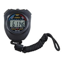 lcd для таймера оптовых-New Outdoor Stopwatch Professional Handheld Digital LCD Display Sports Running Timer Chronograph Counter Timer with Strap