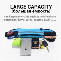 Wholesale water pouch for running resale online - Waterproof Waist Bag Outdoor Running Sport Fashion Pack Pouch For iPhone X S Plus Water Resistant Phone Case