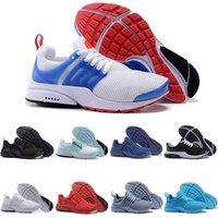 ko großhandel-Nike Air Presto Großhandels neue Laufschuhe AUS Presto Ultra 5 ultra BR dreifach Schwarz Weiß Gelb Camo Womens Sneaker Männer Sport Designer Schuhe Trainer
