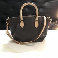 buenos bolsos de diseño al por mayor-¡Envío gratis! Fashion Nice Leather Brand Lady Handbag 36 cm Mujer Diseñador Bolso bandolera Messenger Cross Body Bag