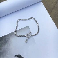 Wholesale Lady Ball Slim - White Graceful Chain Bracelet Fashiong Lady Slim All matching Style Ball Decorated Young Girl