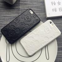iphone couro branco venda por atacado-Yunrt super bonito preto branco casal capa de couro macio case para iphone 6 7 8 8 plus x xr xs max casos de telefone