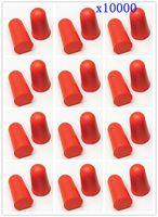 красные затычки для ушей оптовых-[Здоровая жизнь] MOONBIFFY 10000pcs мягкая Красная пена беруши конические беруши профилактики