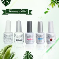 Wholesale Matte Uv Gel - Harmoney Gelish Gel Primer PH BOND No Acid Professional Nail Art Salon Manicure color gel Matte Base Top Soak off UV LED Color Nail Polish