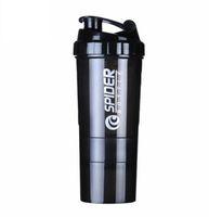 protein shaker flasche sport direkt großhandel-Kreative Proteinpulver Shake Flasche Mischflasche Sport Fitness Wasserkocher Protein Shaker Sport Wasserflasche