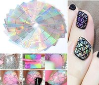 Wholesale Tatyking Diverse Design Nail Stencil Sticker Sheets Set for Nail Art Design Sheets D Stickers