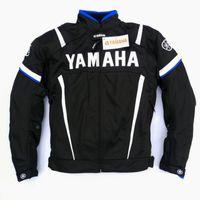 motorrad-rüstungsschutzjacke großhandel-Herren Motorradjacke Für Yamaha Atmungsaktives Mesh Motorradschutz Motorrad Protect Pads Rüstung Racing Chaqueta Moto Verano
