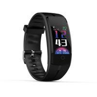 luxus-schrittzähler großhandel-Kalorien Blutdruck Übung Herzfrequenz Pedometer Smart Watch elektronische Armbanduhr Relogio Masculino männlich Uhren Luxus