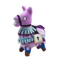 Wholesale stuffed animals - 20cm Fortnite Plush Doll Troll Stash Llama Figure Soft Stuffed Horse Animal Cartoon Toys Action Figure Toys Kids Gift