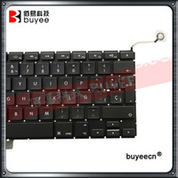 """Wholesale laptop tests - New A1286 Spanish Keyboard 15"""" For Macbook Pro Laptop A1286 Spain SP Language Keyboards 2009 2010 2011 2012 Replacement Tested"""