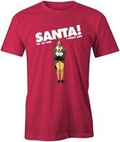 film elves achat en gros de-Santa Oh My God - TShirt Elf Movie Mens Unisexe rigolote Will Noël Noël Ferrell