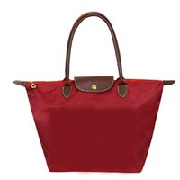 naylon omuz çantası toptan satış-2018 Moda Marka Kadın Çanta Omuz Çantaları Tasarımcı Çanta Casual Deri Naylon Su Geçirmez Bez Plaj Çantaları Bolsas Feminina