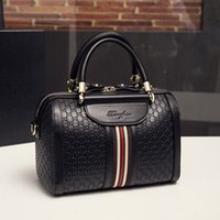 einzigartige mode handtaschen großhandel-Umhängetaschen Designer Mode Frauen Boston Luxus Handtaschen Damen Crossbody Totes PU Leder Manuelle Einzigartige Beliebte Taschen HB017