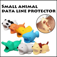 Wholesale case usb charge - Cute Cartoon Animal Cable Protector Cover Protective Case Cable Bite Winder Cover Data Line Cord Protector For iPhone USB Charging Cable