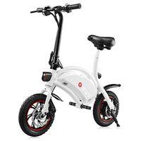12 inçlik bisiklet jantları toptan satış-F - tekerlekli DYU D1 12 inç Tekerlekler 10Ah Akıllı Katlanır Elektrikli Bisiklet / Güçlü scooter (Deluxe Sürüm)