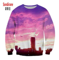 women sky sweatshirts NZ - Sondirane Newest 3D Print Graphics Men Women Color Sky Hoodies Sweatshirt Long Sleeve Fashion Pullover Tarcksuit Nice Clotihng