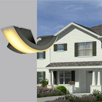 dış mekan balkon aydınlatması toptan satış-8 W Duvar Işık LED IP65 Su Geçirmez Bahçe Işık Dış Duvar Lambası Yüzey Duvara Monte Avlu Led işık Koridor Koridor Balkon Aplik