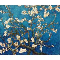 gemälde zweige groihandel-Vincent van Gogh-Malereien von Niederlassungen eines Mandelbaums in der Blüte handgemachte Segeltuchkunst für Schlafzimmer Qualität